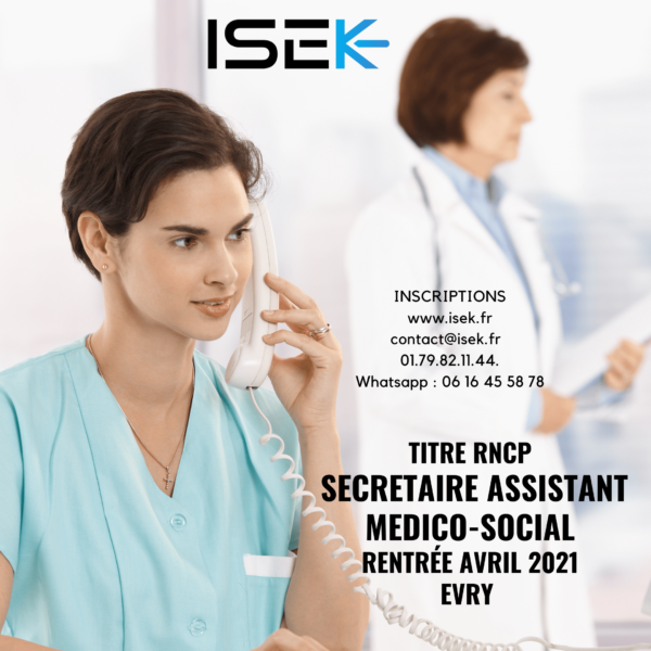 titre professionnel secrétaire assistant médico-social