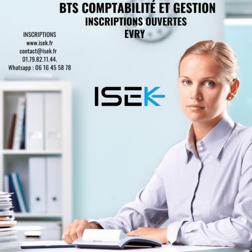 BTS comptabilité et gestion