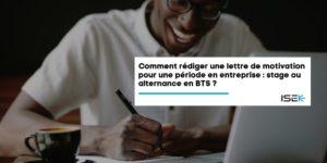 bts stage alternance lettre motivation